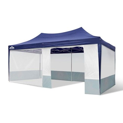 Outdoor Marquee Pop Up Fold Down Gazebo Event Tent Stall BBQ 3mX6m in Navy  sc 1 st  Pinterest & Outdoor Marquee Pop Up Fold Down Gazebo Event Tent Stall BBQ 3mX6m ...