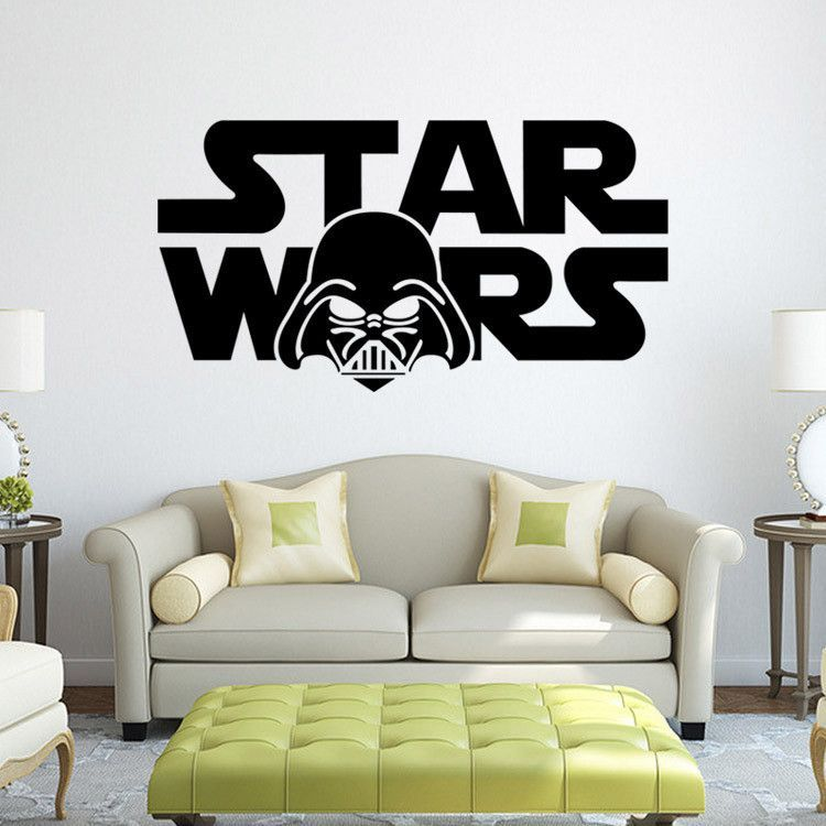 Star wars Star Wars cartoon living room bedroom living ...