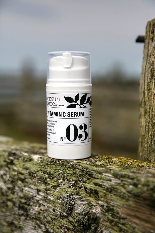 moonsun organic vitamin c serum