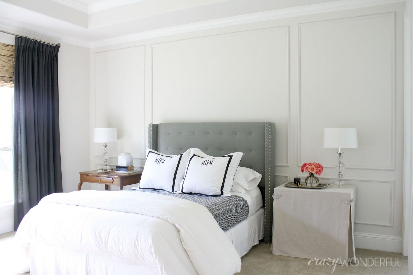 Best Diy Picture Frame Moulding … Wainscoting Bedroom 640 x 480