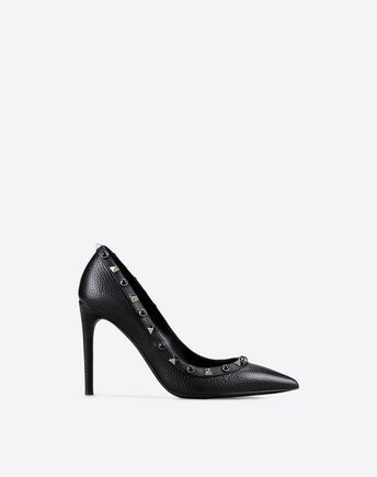 7e14b57e7e44 VALENTINO Rockstud Rolling Noir Pump.  valentino  shoes ...