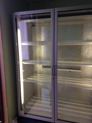 Caravell Double Door Glass Display Chiller Fridge Bottle Can Cooler Ebay Glass Door Kitchen Refrigerator Locker Storage