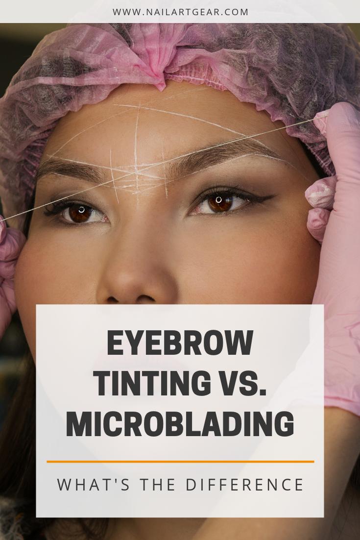 Eyebrow Tinting Vs Microblading Eyebrow Tinting Microblading Eyebrows