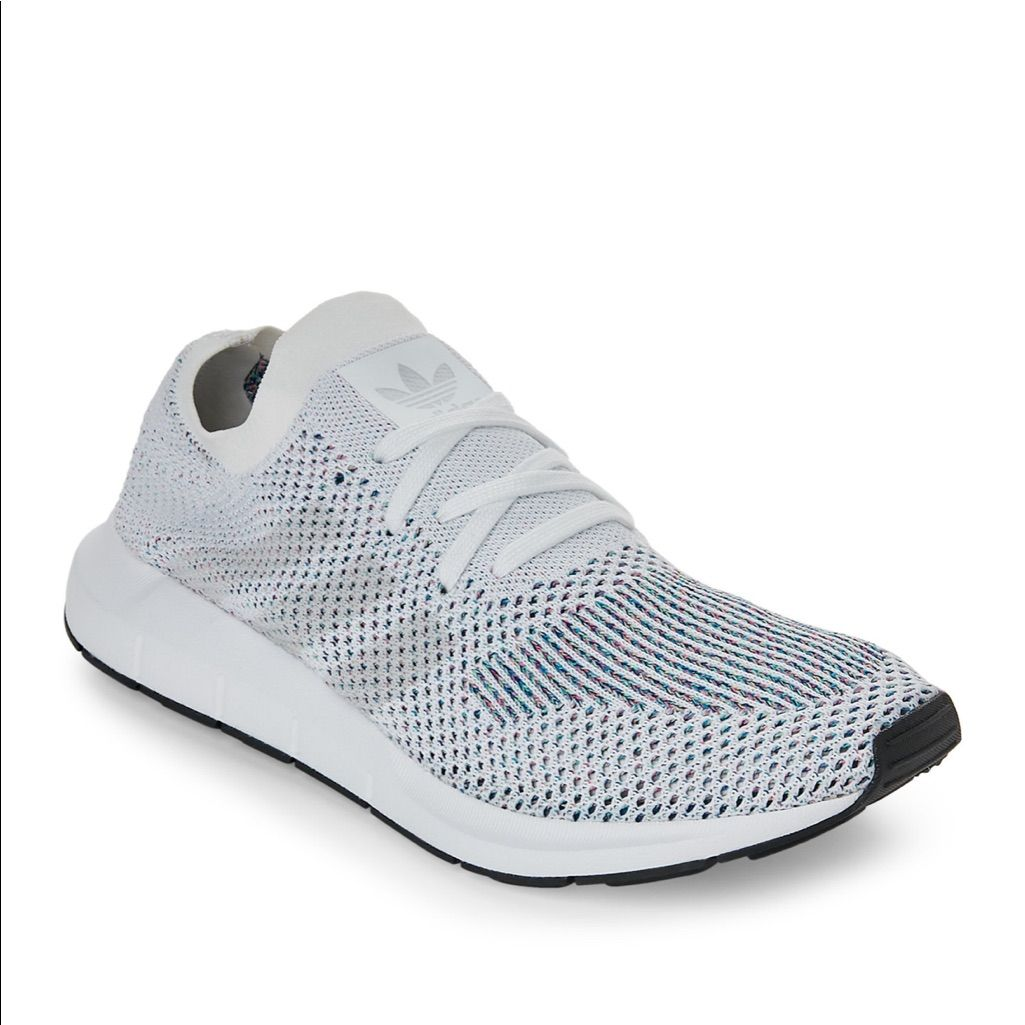 adidas Shoes Adidas Swift Run Knit Sneaker White Color