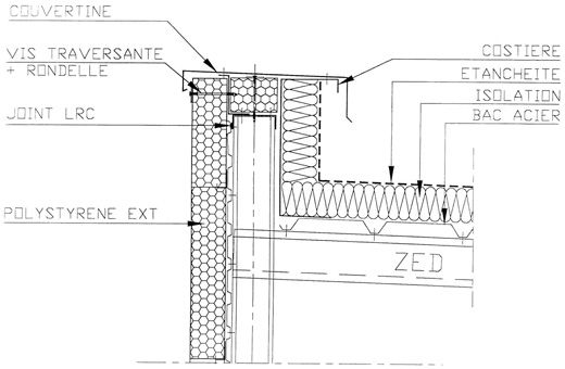 schema toiture bac acier archi toiture acier pinterest toiture acier et sch ma. Black Bedroom Furniture Sets. Home Design Ideas