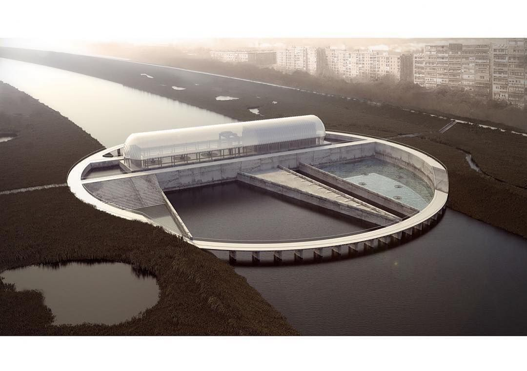 Next Top Architects On Instagram Next Top Architects Hydroelectric Power Plant In Zagreb Infrastru Hydroelectric Power Plant Top Architects Hydro Electric