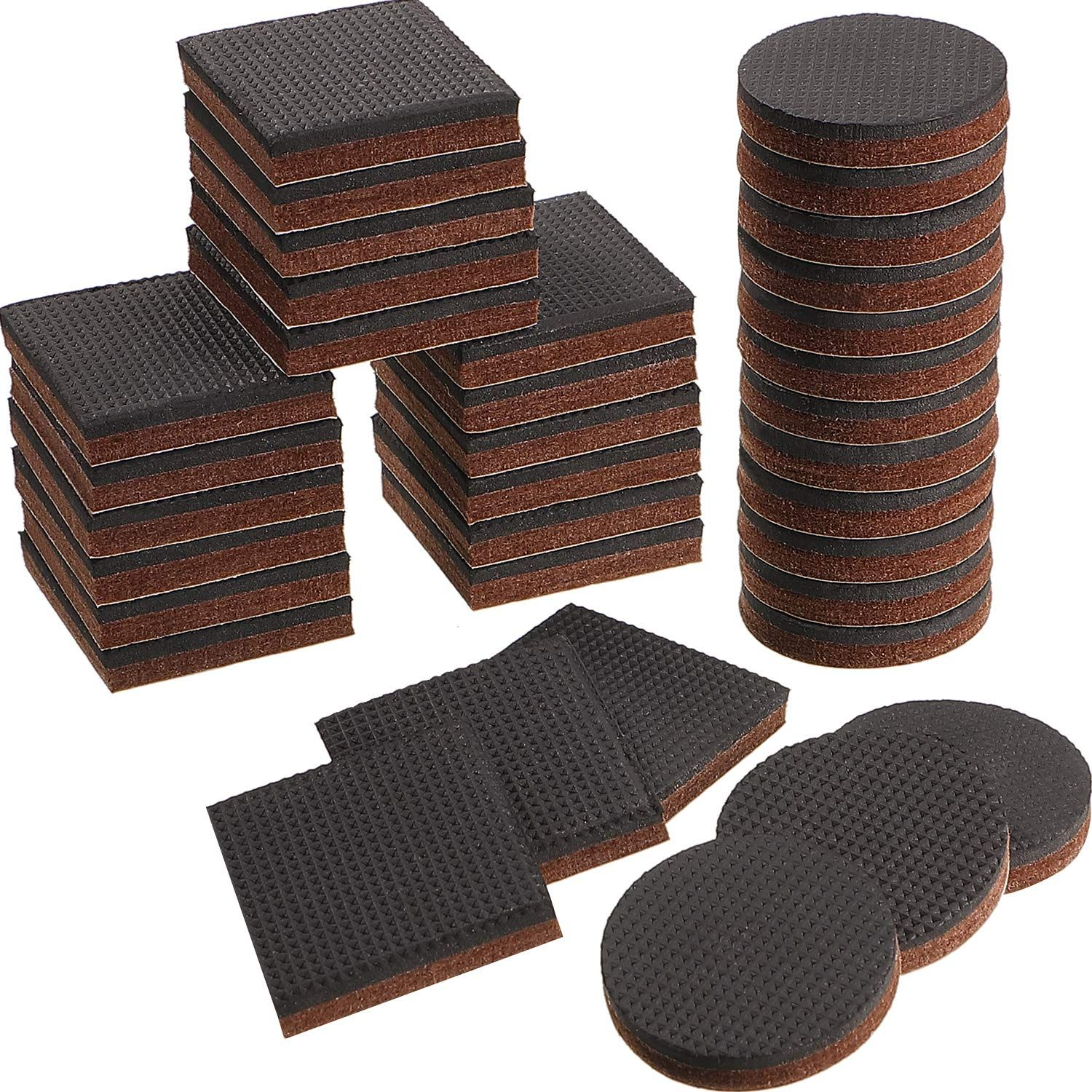 36 Pieces Non Slip Furniture Pads 2 Inch Rubber Feet Pads Furniture Floor Protectors For Keep In Place Furn In 2020 Furniture Pads Furniture Floor Protectors Foot Pads