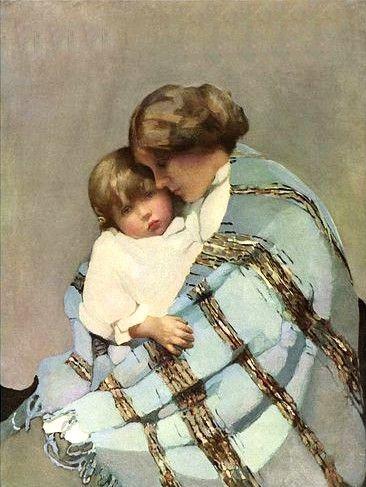 Norah Neilson Grey, (British, 1882-1931) - Maternity, 1926