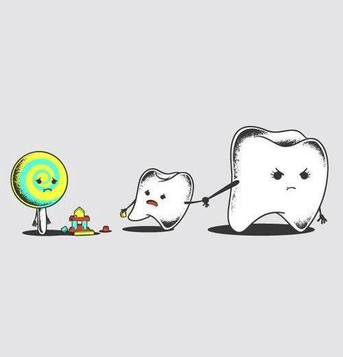 Imagen de candy, teeth, and sweet
