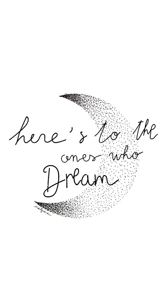 Heres to the ones who dream lyrics