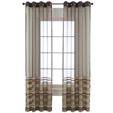 Studio Rumor Grommet Top Sheer Curtain Panel Jcpenney 15 On