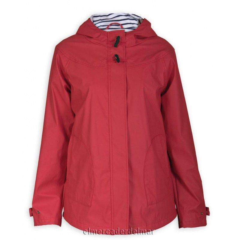 lo último 15586 d3f63 Chubasquero chaqueta náutica poliuretano de mujer, forrado ...