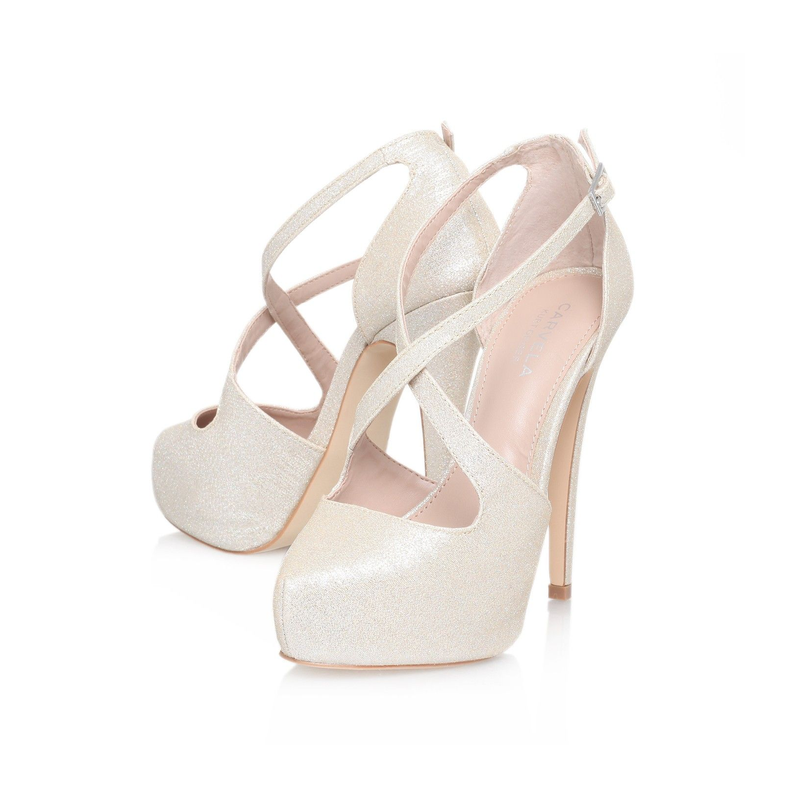 Kimchee Champagne Shoe By Carvela Kurt Geiger Women
