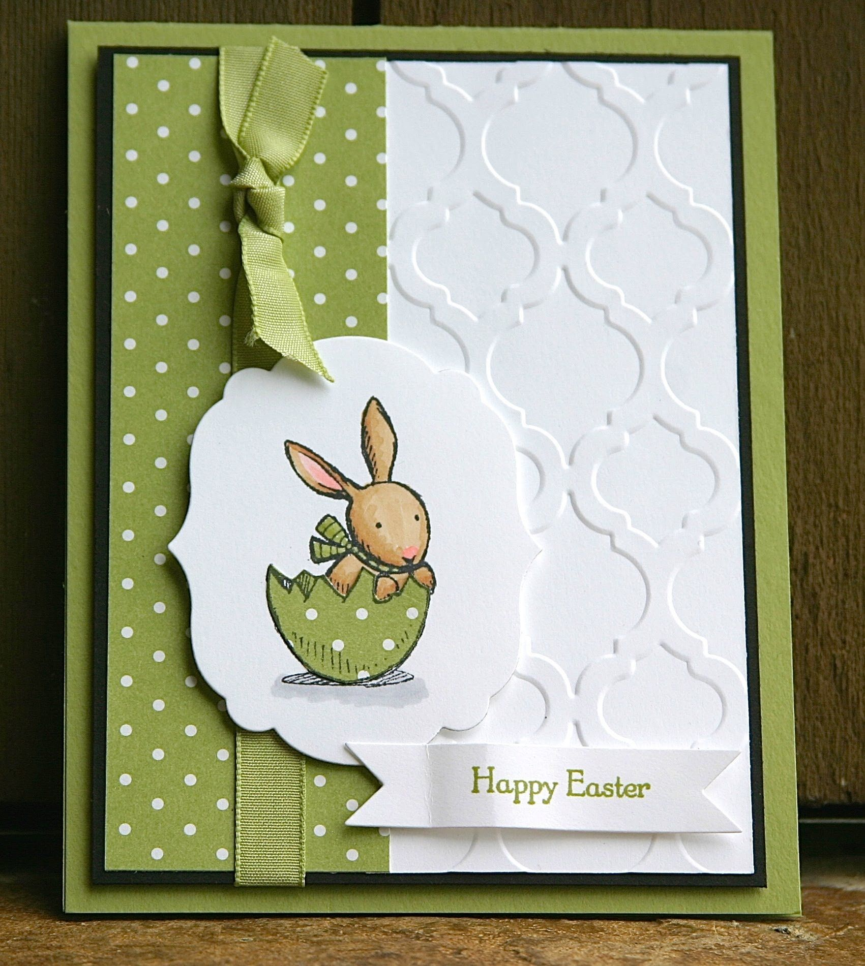 Stampin Up Everybunny Easter Card Cards Pinterest – Homemade Easter Cards