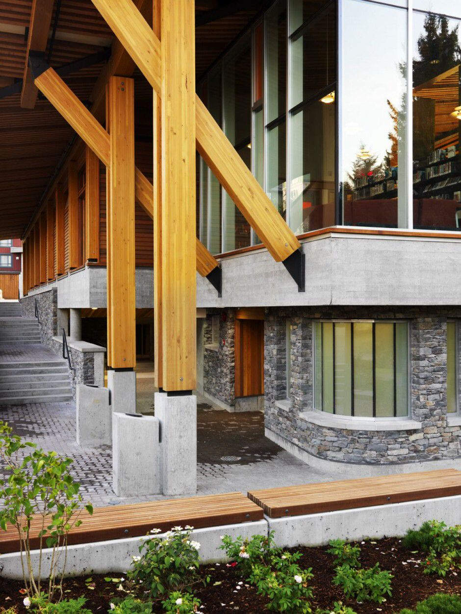 Design Whistler Public Library Design By Hughes Condon Marler Architects  Architecture Photos Whistler Public Library Design