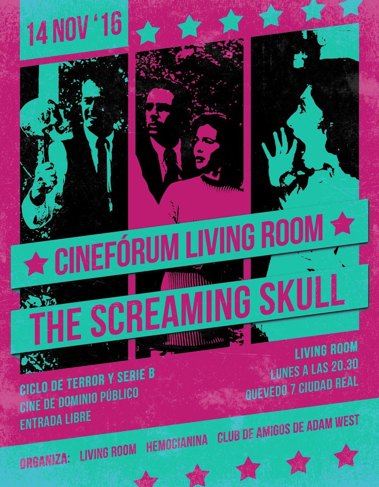 Cinefórum Living Room: The Screaming Skull