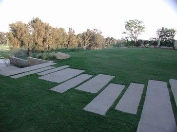 Outdoor Modern Walkways Design Ideas Pictures Remodel And Decor Concrete Walkway Walkway Design Hardscape