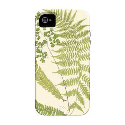 (3x5) Ferns with Platemark III iPhone 4/4S Case