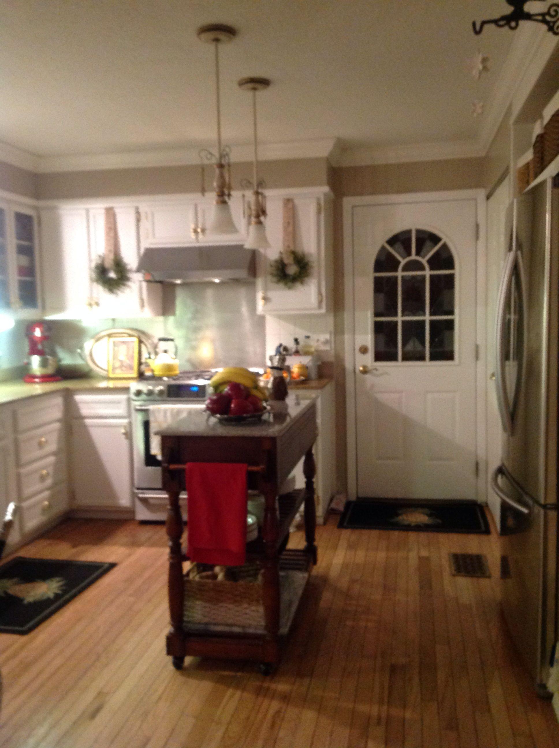 Simple kitchen island sugar hill pinterest kitchens