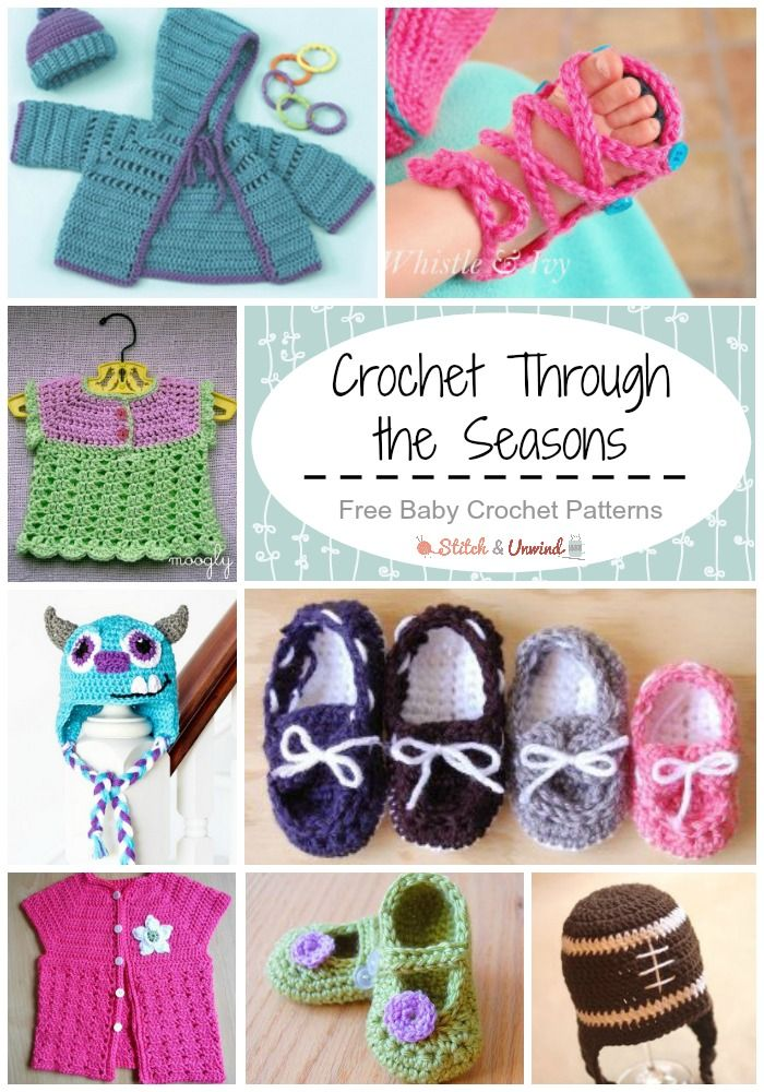 6afca8f6c Crochet for Baby All Year Long