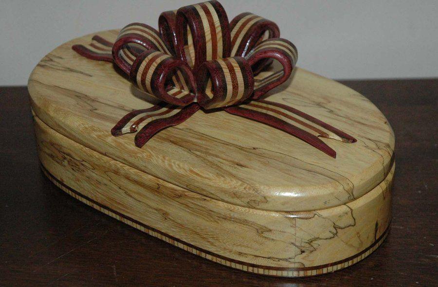 spalted ribbon box - by oakwood @ LumberJocks.com ~ woodworking community