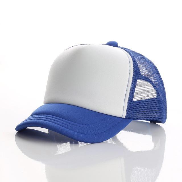 16 Colors Children s Summer Mesh Baseball Cap Custom Printed Logo Beach Hat  Travel Sunhat for Boys 82e8b01922b5