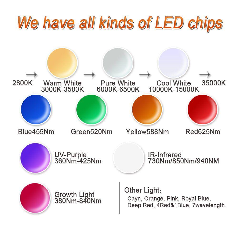 Power 588nm591nm Bulbs Chip 100 Light Yellow High 100w Hontiey Led cTJF1lK