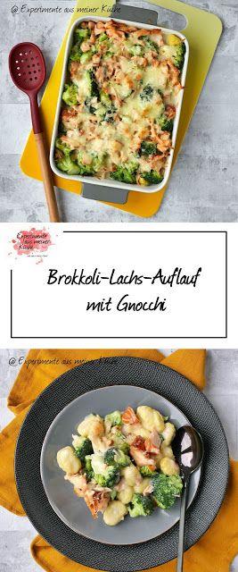 Brokkoli-Lachs-Auflauf mit Gnocchi - Experimente aus meiner Küche