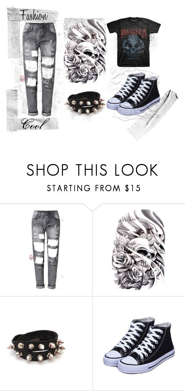 """""""Rock"""" by dark-soul-xd on Polyvore featuring women's clothing, women's fashion, women, female, woman, misses and juniors"""