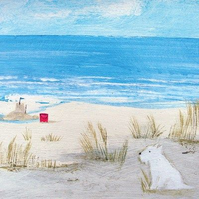 Day Remains Art Greeting Card By Hannah Cole   Whistlefish Galleries