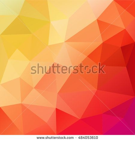 Light Red Colors Subtle Vector Abstract Polygonal Background