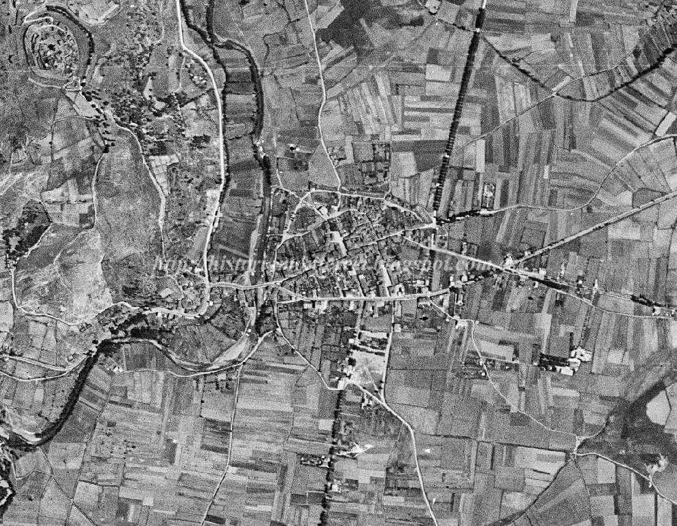 Historia e historias da comarca de Monterrei: Fotografías aéreas de Verín (1945-actualidade)