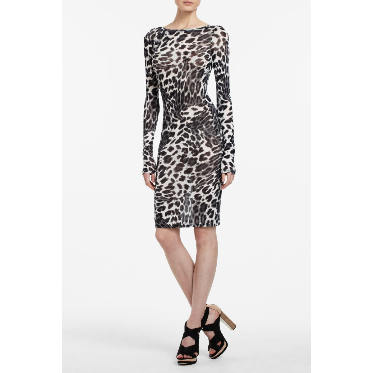 BCBG Felicia Cheetah Dress