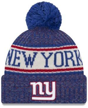 fb224b52eeb New Era New York Giants Sport Knit Hat - Blue Adjustable