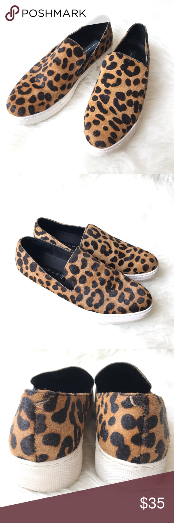 Steve Madden Arden Leopard sneaker Size