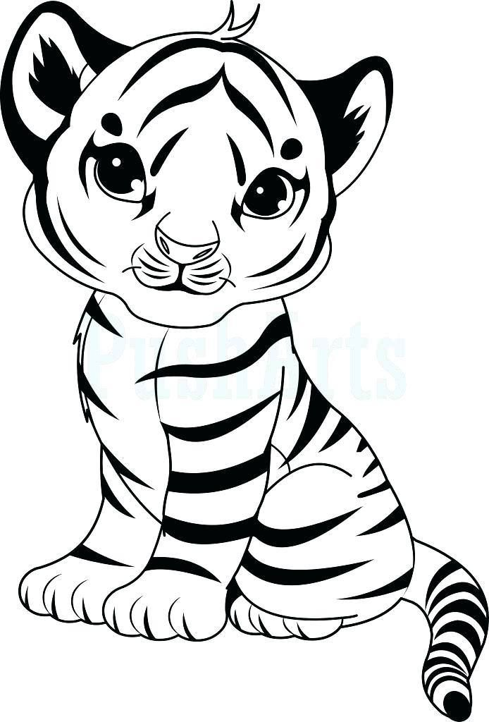 tiger cub coloring pages - photo#14