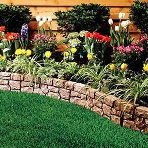 Dalen Gardeneer Stonewall Border Natural With Images Stone