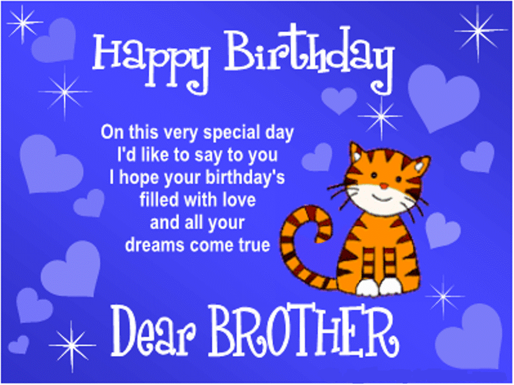 Happy Birthday Brother Wisheshappybirthdaywishesonline – Text Message Birthday Cards