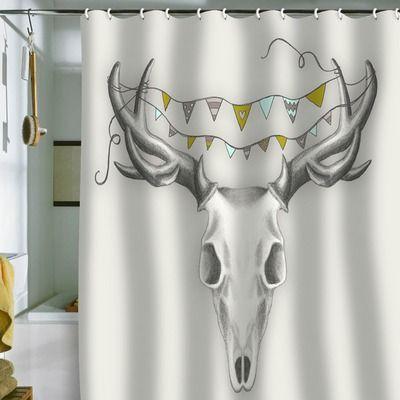 All Modern Shower Curtain