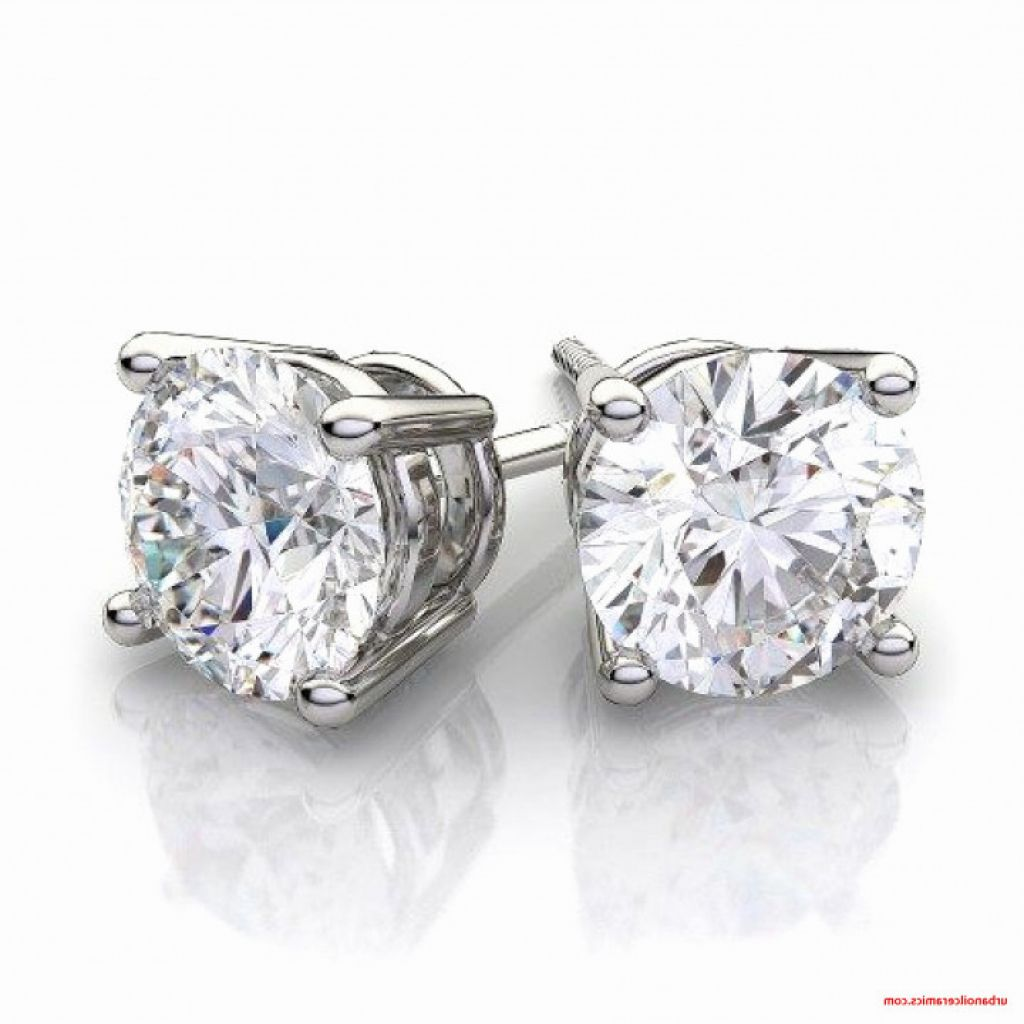 Brilliant In Addition To Beautiful 1 Carat Diamond Stud