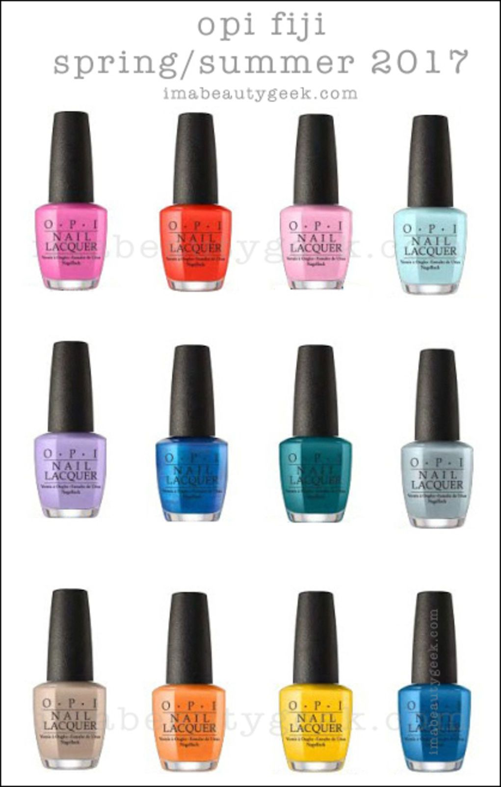 Opi Lisbon Collection Spring Summer 2018 Sneaky Peek In 2020