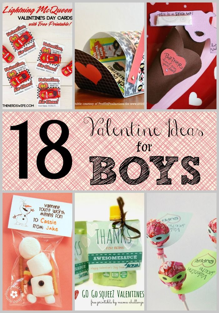 18 Valentine Ideas for Boys - Roubinek Reality