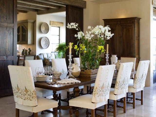 Image Result For Slipcovered Dining Chair Wood Dining Chairs Rustic Dining Room Dining Chairs