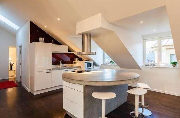 Cucina con soffitto basso house apartment design stockholm