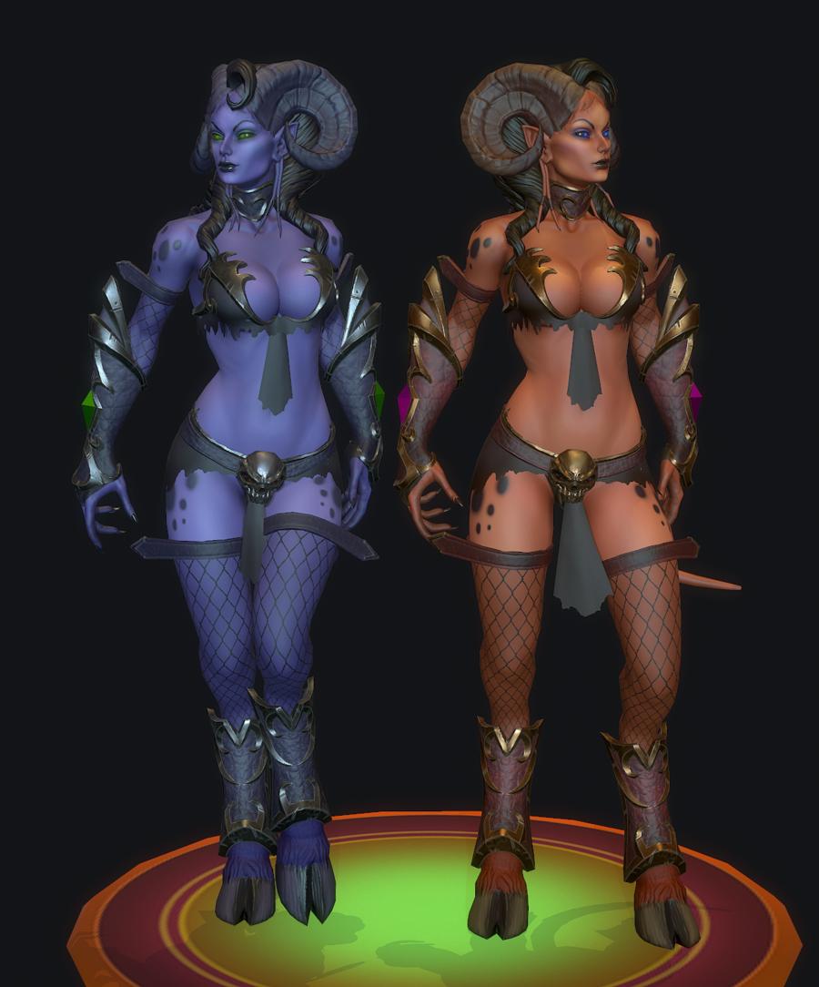 The Eredar Twins