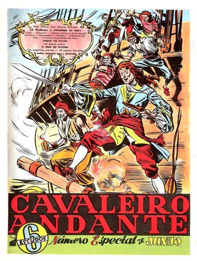 Cover for Cavaleiro Andante Número Especial (Empresa Nacional de Publicidade (ENP), 1953 series) #Junho de 1955