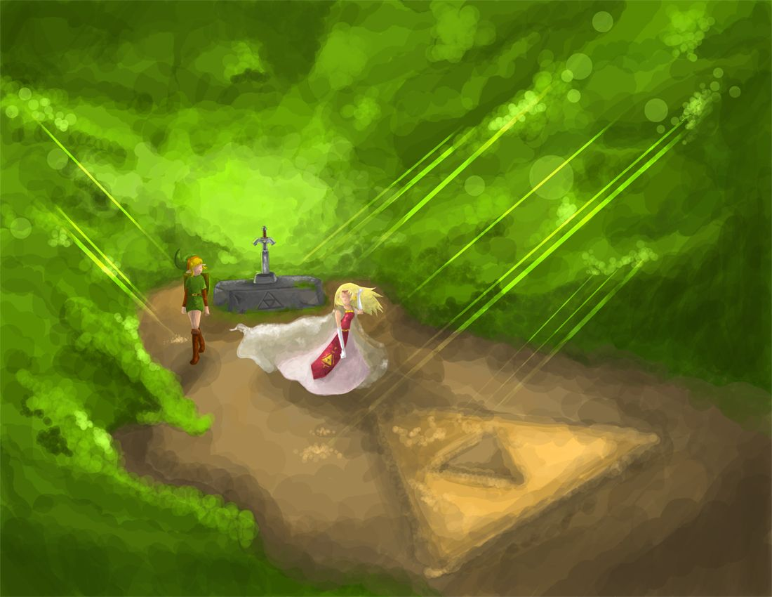 Ending To A Legend By Tunetherainbow On Deviantart Legend Of Zelda Legend Zelda Art