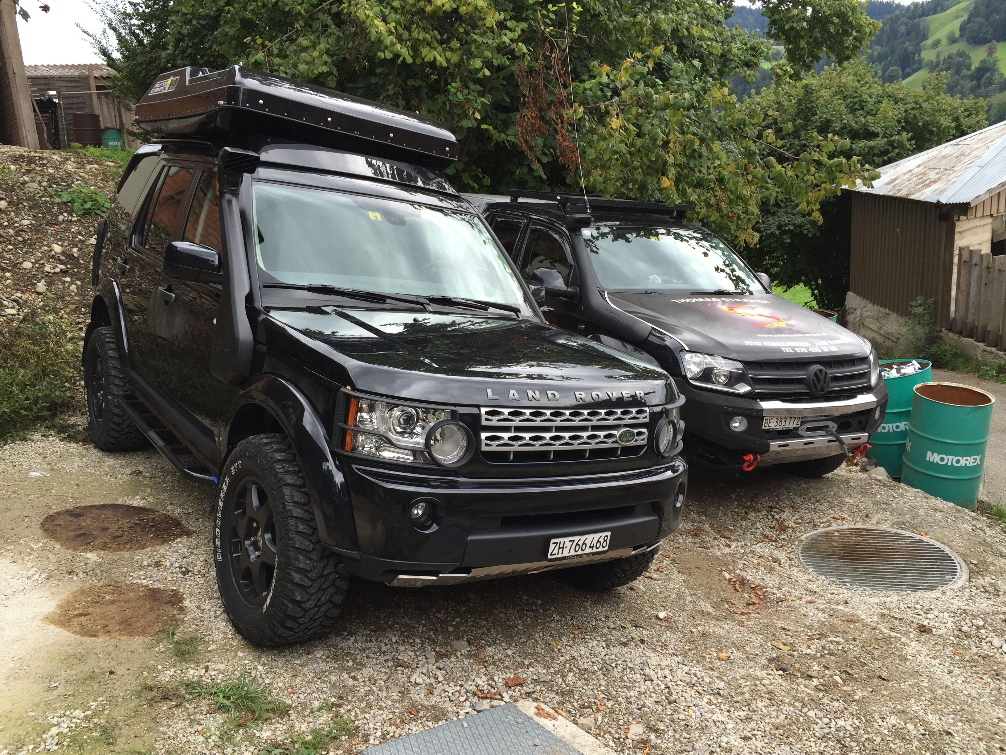 umgebauter land rover discovery 4 bei 4x4. Black Bedroom Furniture Sets. Home Design Ideas