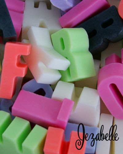 We Love Our Letter Soap! It Allows Us To Create Fun Words