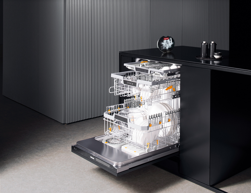 The Dishwashers Of Tomorrow Are Here Miele Kitchen Appliances Generation 7000 Miele Kitchen Appliances Miele Kitchen Miele Dishwasher